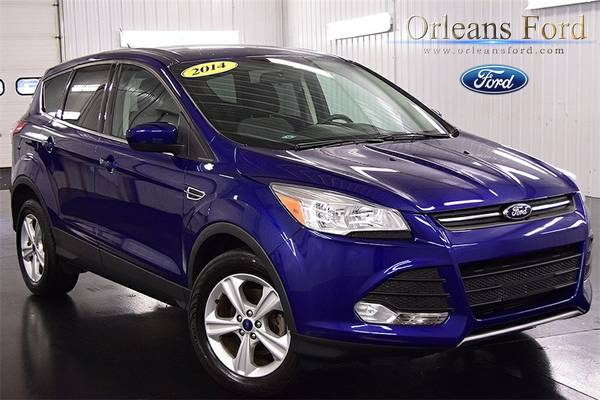 2014 Ford Escape 4D Sport Utility only 13,814 miles