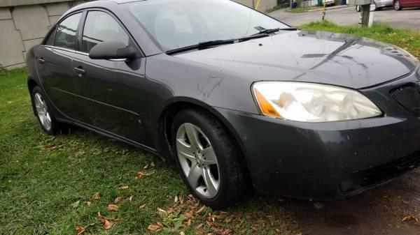 2008 Pontiac G6- Has HEAT, ready for winter!