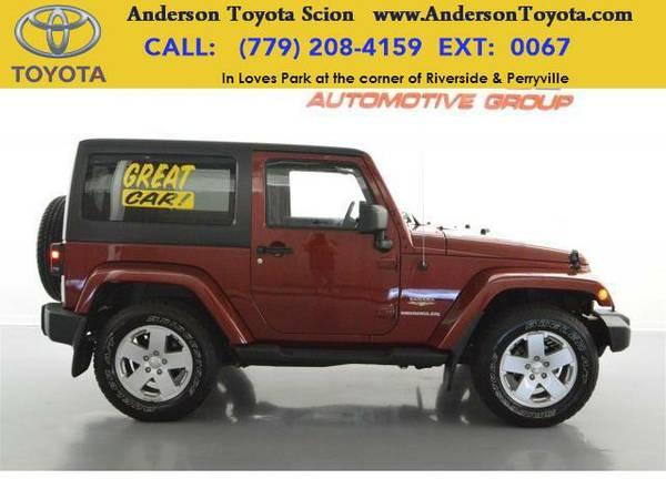 2012 *Jeep Wrangler* Sahara 4WD