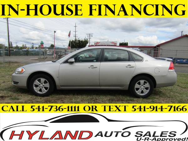 2008 CHEVROLET IMPALA LT ** ONLY 51,994 MILES ** U-R APPROVED!@ HYLAND