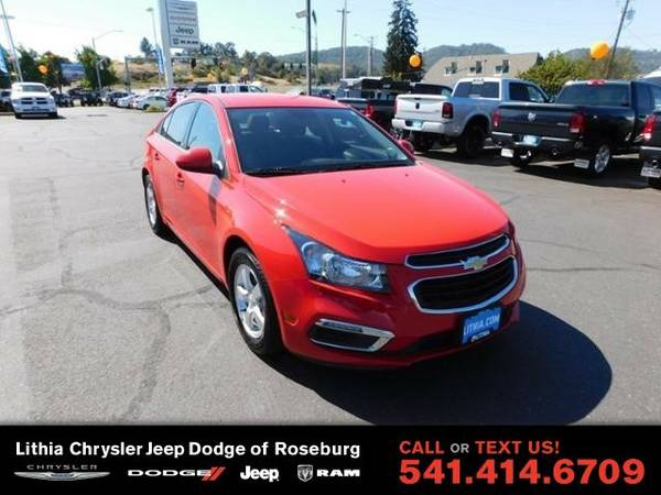 2016 Chevrolet Cruze Limited 1LT (You Save $1,174 Below KBB Retail)