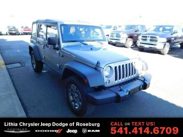 2015 Jeep Wrangler Unlimited SPOR (You Save $2,112 Below KBB Retail)