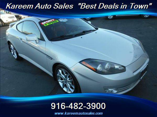 2008 *Hyundai* *Tiburon* SE 6-Speed