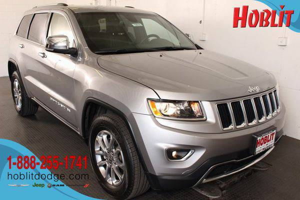 2015 *Jeep* *Grand* *Cherokee* Limited ***No Hassle. No Pressure. EVER