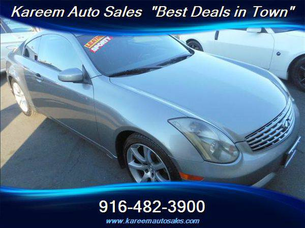 2004 *Infiniti* *G35* 2dr Coupe