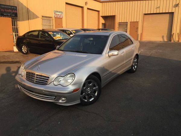 2005 *Mercedes-Benz* *C-Class* C320 4dr Sedan CALL/TEXT ASK ATA (916)