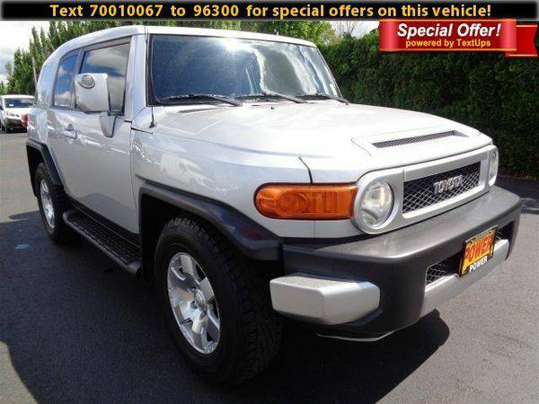 2007 *Toyota* *FJ* *Cruiser* 4DR 2WD AT - GET APPROVED TODAY!