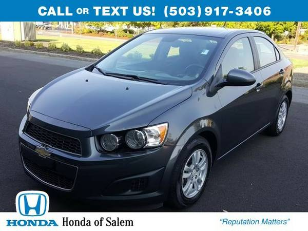 2012 Chevrolet Sonic LS (You Save $313 Below KBB Retail)