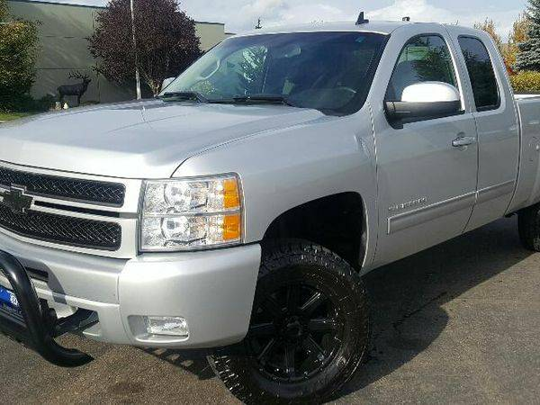 2012 *CHEVROLET* *SILVERADO* *1500* 4WD EXT CAB 143.5 LT - CALL/TEXT