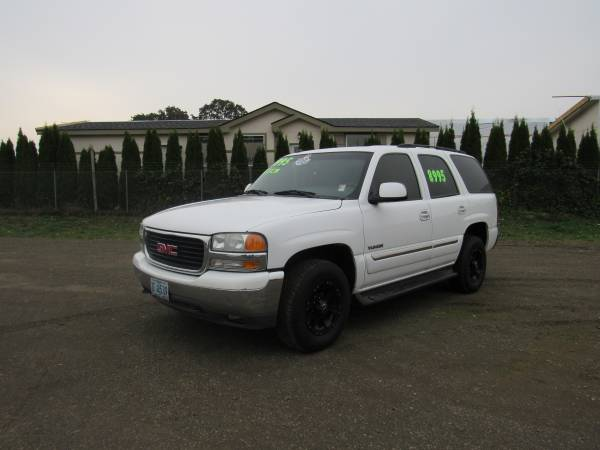 2003 GMC YUKON(4X4)*ONE OWNER*YOUR JOB IS YOUR CREDIT!!!