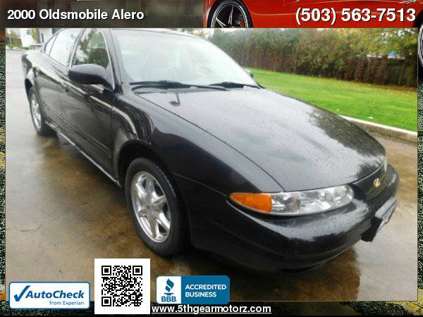 2000 Oldsmobile Alero GLS Sport *1 OWNER!* CALL!
