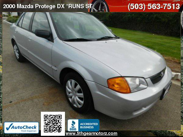 2000 Mazda Protege DX *RUNS STRONG!* CALL!