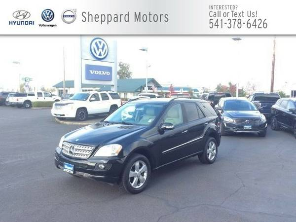 2006 Mercedes-Benz ML500 4MATIC 4dr 5.0L SUV ML500 Mercedes-Benz