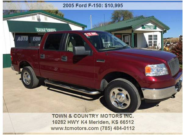 2005 FORD F-150 CREW 4X4 ◆◇◆ 143K MILES 1OWNER...