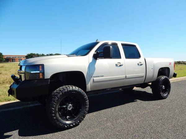 2008 CHEVY SILVERADO 2500-6.6LDURAMAX-CLEAN CARFAX-LIFTED-SUPER NICE!
