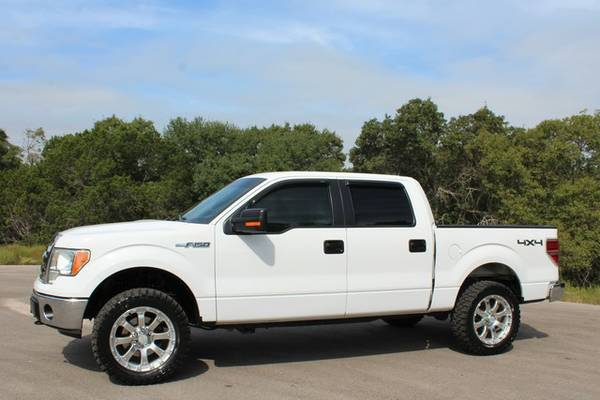 WOW TX EDITION 2011 FORD F-150-CREW CAB 4X4-NEW WHEELS/TIRE PACKAGE!