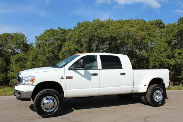 2009 DODGE RAM 3500-MEGA CAB SLT-6.7L CUMMINS-6SPEED-1OWNER-CALL NOW!!