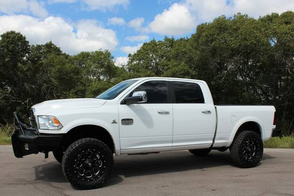 2012 RAM 2500 LONGHORN 4X4-6.7L LOADED SHORTBED-PAVEMENT PRINCESS!