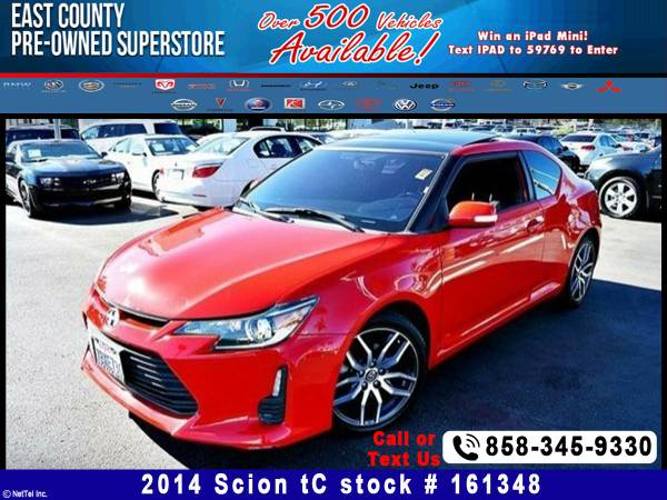 2014 Scion tC Stock #161348