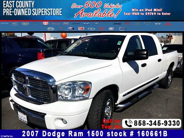 2007 Dodge Ram 1500 Laramie Stock #160661B