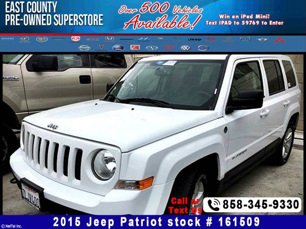 2015 Jeep Patriot Sport Stock #161509