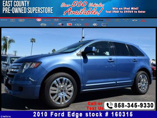 2010 Ford Edge Sport Stock #160315