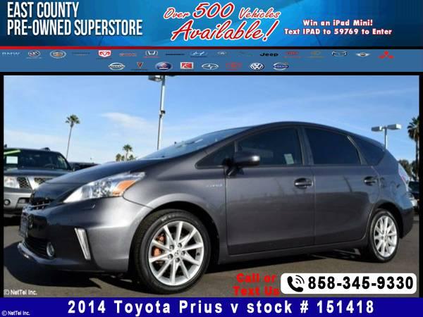 2014 Toyota Prius V Stock #151418