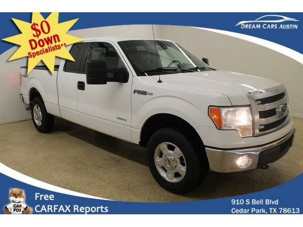 2014 *Ford*F150 4WD* Supercab XLT - GOOD OR BAD CREDIT OK!