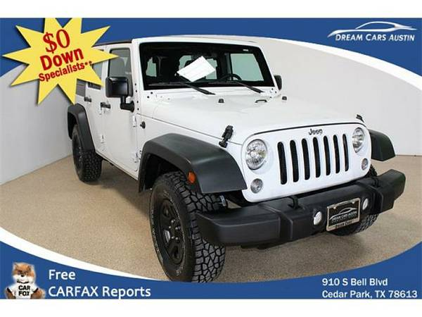 2015 *Jeep*Wrangler Unlimited* 4d Convertible Sport - GOOD OR BAD...