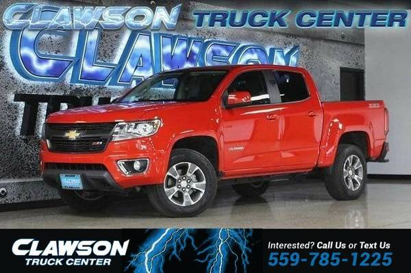 2015 Chevrolet Colorado 2WD Crew Cab 128.3 Z71 Truck Colorado...