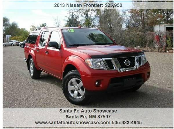 ★2013 Nissan Frontier V6 LAVA RED★