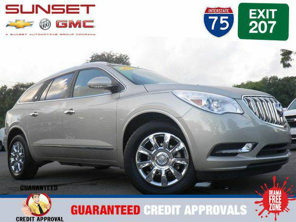 Certified 2013 *Buick* *Enclave* Leather -FINANCE EVERYONE