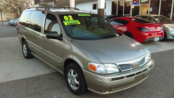2002 *Oldsmobile* *Silhouette* GLS 4dr Extended Mini Van