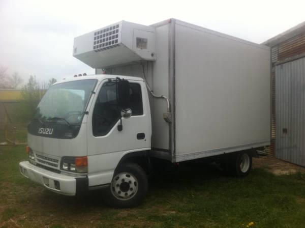 1997 Isuzu Refer Truck/Diesel Turbo