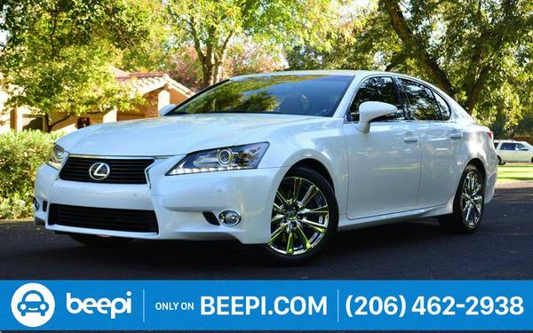 2013 *Lexus* *GS 350* *4dr Sedan RWD* -$28,799