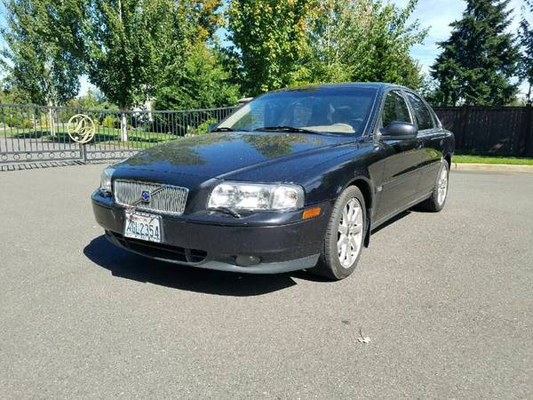 2003 Volvo S80 T6 Elite 4 door Turbo Sedan