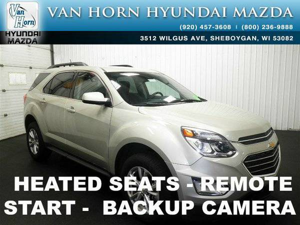2016 *Chevrolet Equinox* LT - Champagne Silver Metallic BAD CREDIT OK!