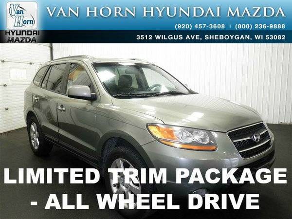 2008 *Hyundai Santa Fe* Limited AWD - Natural Khaki BAD CREDIT OK!