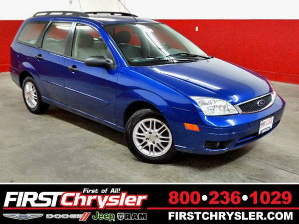 2005 *Ford Focus* ZXW-Wagon - Ford Sonic Blue Clearcoat