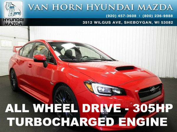 2016 *Subaru WRX STI* STi - Pure Red BAD CREDIT OK!