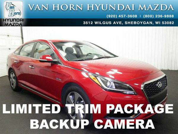 2016 *Hyundai Sonata Hybrid* Limited - Venetian Red Pearl BAD CREDIT...