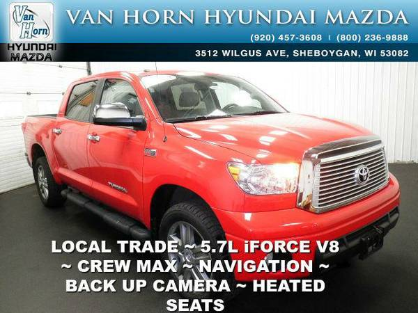 2012 *Toyota Tundra* Limited - Radiant Red BAD CREDIT OK!