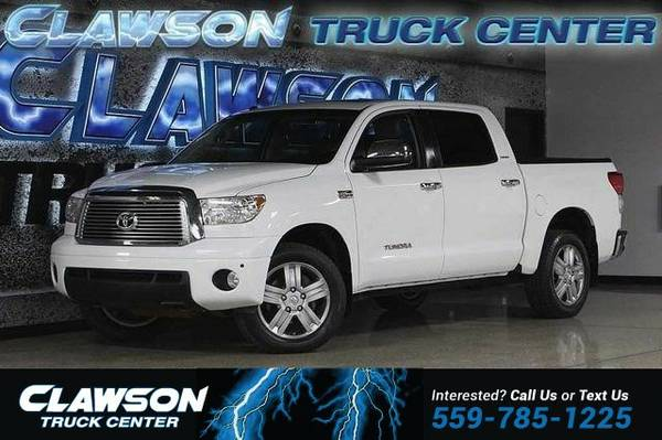 2010 Toyota Tundra CrewMax 5.7L V8 6-Spd AT LTD (Natl) Truck Tundra...