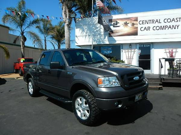 2007 FORD F150 CREW CAB 4X4 FX4 LOADED!! NEW TIRES!!