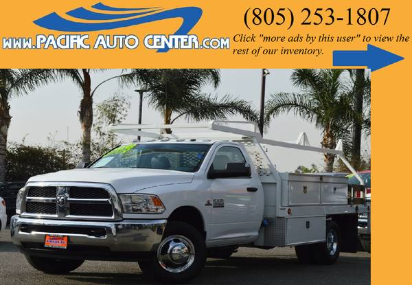 *2014 Dodge Ram 3500 Diesel Truck SLT Dually Ram 3500 Utility # 14459*