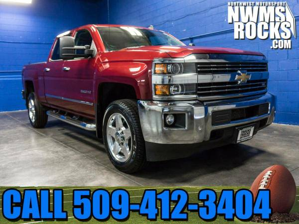 2015 *Chevrolet Silverado* 2500HD LTZ 4x4 - One Previous Owner! 2015 C