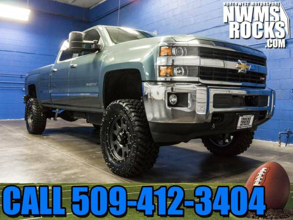 Lifted 2015 *Chevrolet Silverado* 3500 LTZ 4x4 - BRAND NEW LIFT! 2015