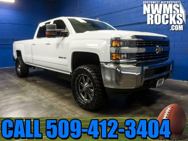 Lifted 2015 *Chevrolet Silverado* 3500 LT 4x4 - BRAND NEW LIFT! 2015 C