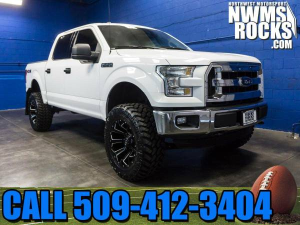 Lifted 2015 *Ford F150* XLT 4x4 -