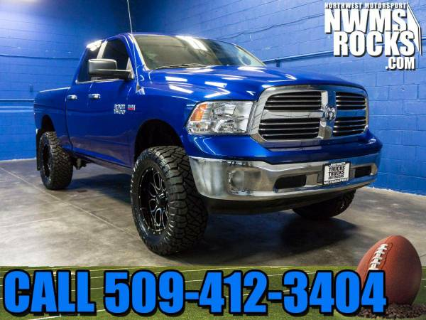 Lifted 2014 *Dodge Ram* 1500 SLT 4x4 -